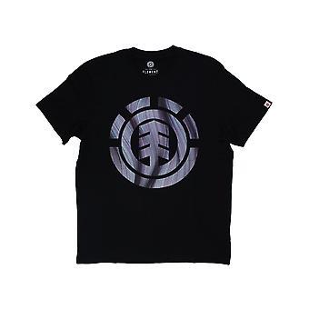 Elementti käänteitä & kääntyy täyttää Lyhythihainen T-paita Flint musta