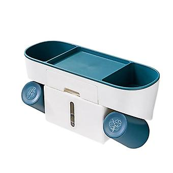 34cm wandgemonteerde tandpasta dispenser home opslag rack badkamer accessoires| Tandenborstel houders