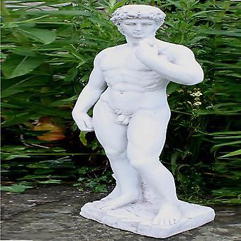 Stone Effect David Statue