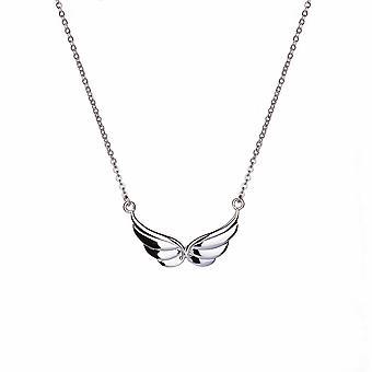 Kalini - Angel Wings Icons Collier - Prolongateur 40cm +3cm - Argent - Cadeaux bijoux pour femmes de Lu Bella