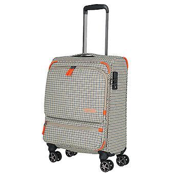 travelite Checkline Trolley 4 ruote, 54 cm, 33 L, Grigio