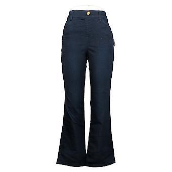 IMAN Global Chic Mujeres's Jeans Ilusión Denim Bootcut Azul 734928406