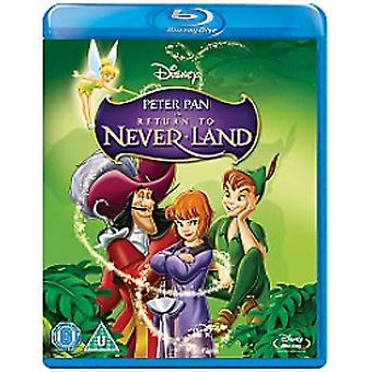 Peter Pan 2 Palaa Neverland Blu-ray -levylle