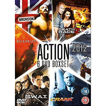 Bronson / Death Race 2 / Backdraft / 2012 / SWAT / Crank DVD