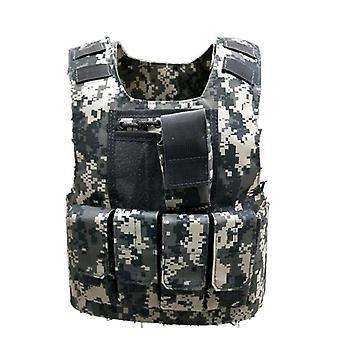 Boys Tactical Vest, Bulletproof Combat Armor Topuri, Armata Uniforma