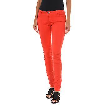 MET pantalones de mujer editar rojo