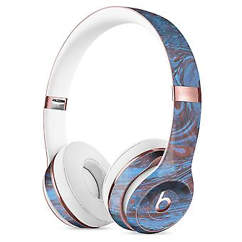 Kék pala márvány felület V41 teljes test bőr kit a Beats By Dre