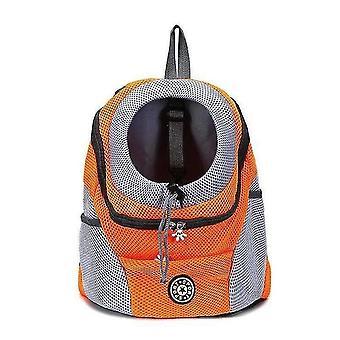 Saco de cachorro de mochila de transporte ao ar livre para cães pequenos grandes 20(36x45x21cm)