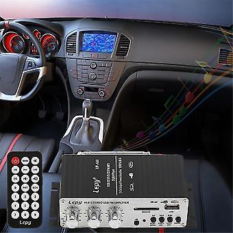 12v Auto Mp3 Hi-fi Stereo Audio zesilovač s USB Port DVD Fm Mmc