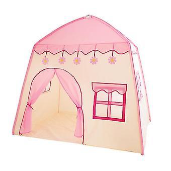 Kids Sátrak Beltéri Játszóház , Oxford Fabric Girls Princess Castle Könnyen összeszerelhető (Pink)