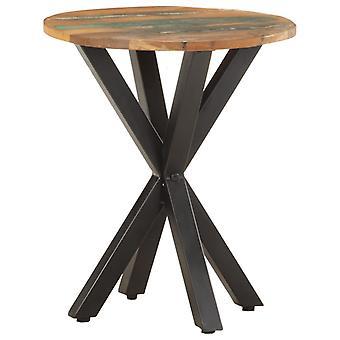 mesa lateral vidaXL 48x48x56 cm madeira de resíduos sólidos