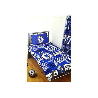Chelsea Patch Single Duvet and Pillow Case Set
