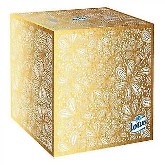 Lotus White Cubic Tissue Boxes X48