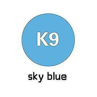 1m Länge Werbung Druck Wärmeübertragung Beschriftung Folie Kleidungsstück Druck (Blau)