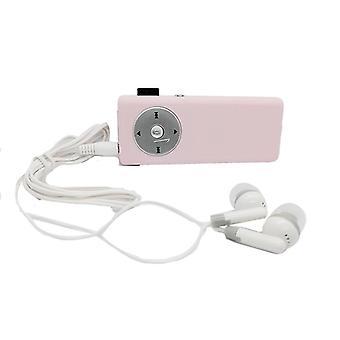 Kannettava Micro Sd Mp3 -soitin kuulokkeella / tf-kortilla