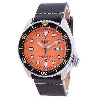 Seiko Автоматический Дайвер Skx011j1-var-ls20 200m Япония Сделано Мужские часы
