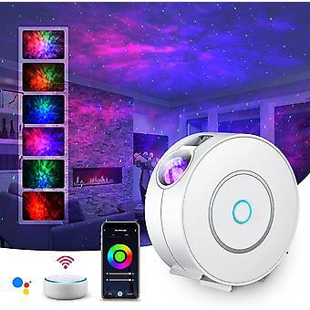 LED Smart Star Projektor 3D Galaxy Cloud Star Licht Projektor Schlafzimmer Nachtlicht