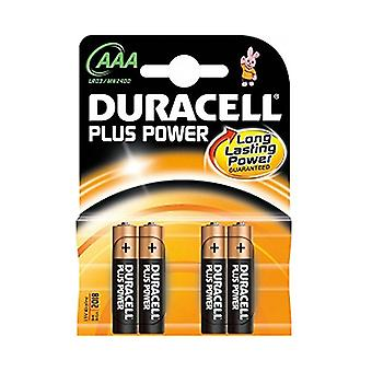 LR03 Pilas alcalinas DURACELL AAA (4 uds)