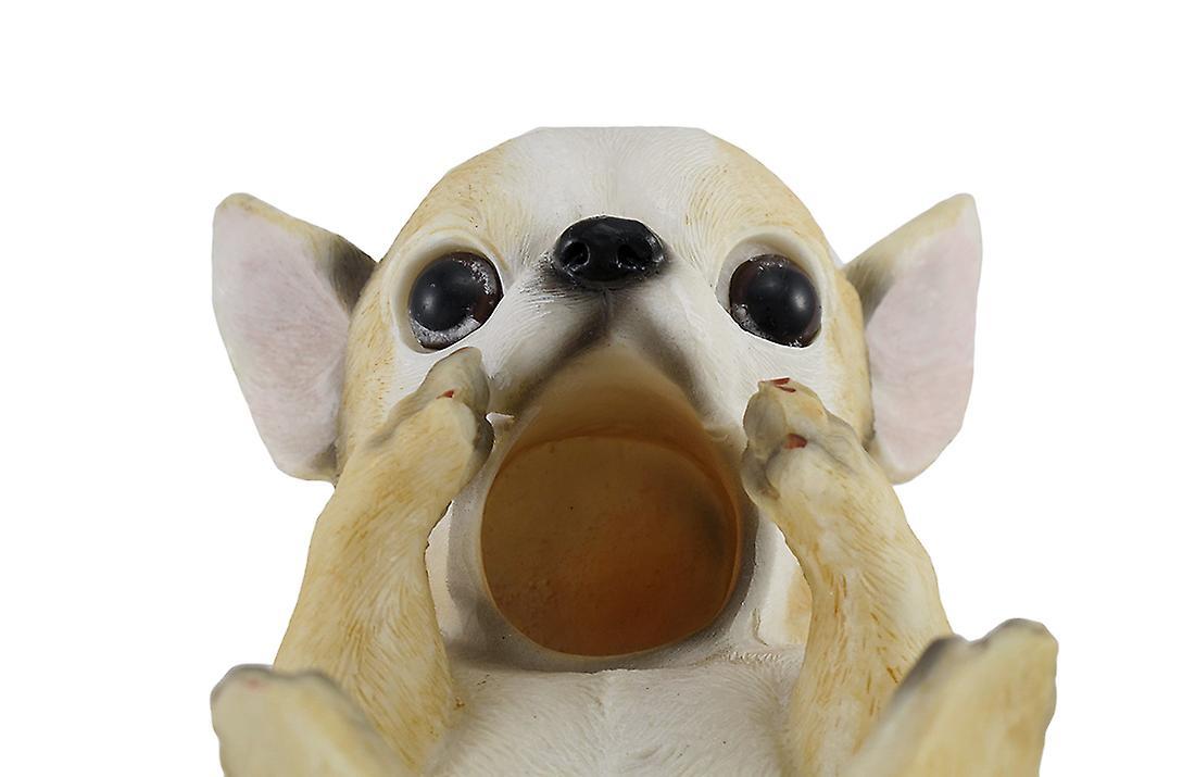 Chihuahua chien table bouteille de vin unique Support écran