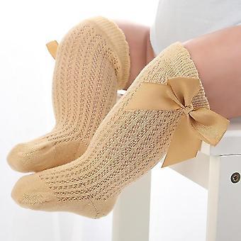 תינוק לא להחליק ברך תחרה גבוהה נסיכה גרביים - ארוך שפופרת מגפונים