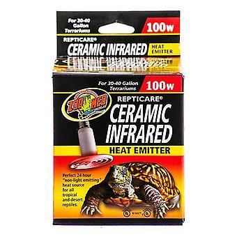 Zoo Med ReptiCare Ceramic Infrared Heat Emitter - 100 Watts