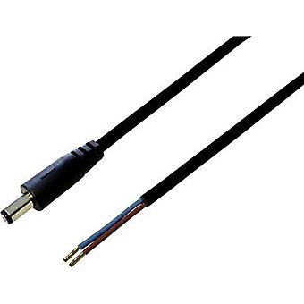 BKL Electronic 072058 Low power cable Low power plug - Open cable ends 5.5 mm 2.5 mm 2.00 m 1 pc(s)