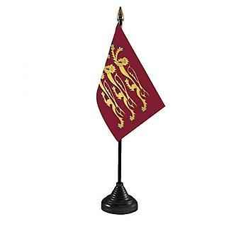 Union Jack usa la bandera de la mesa Richard Lionheart
