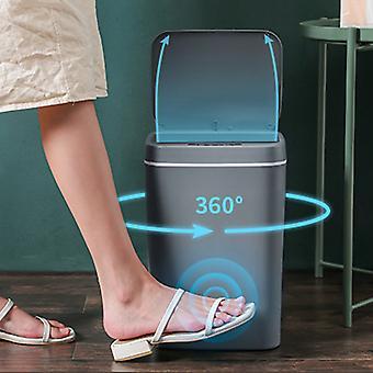 14l الذكية القمامة يمكن التلقائي الذكية استشعار القمامة القمامة القمامة الكهربائية القمامة بن لمكتب مطبخ الحمام المرحاض