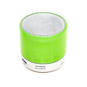 Bluetooth Speaker Mini draadloze luidspreker Crack Led Tf-kaart Usb Subwoofer Draagbare Mp3 Muziek Geluidskolom voor pc mobiele telefoon