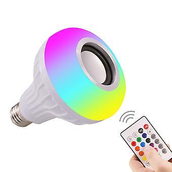 Smart E27 Rgb Bluetooth Led Lamp Licht Muziek Afspelen Lamp