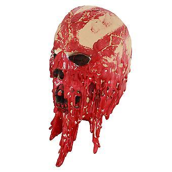 Nouveauté Latex Masque Halloween Costume Fête Cosplay Fantôme Thème Crâne Sang Des Tentacules Masque Rouge