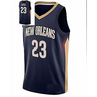 Men's Basketball Jersey #1 Zion Williamson #23 Anthony Davis New Orleans Pelicans Swingman Jersey Sports T-shirt Size S-xxl
