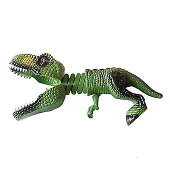 Ein neuartiger Frühlingsdinosaurier kann Teleskopcharakter Spielzeug Spiel Kinder Interaktive Kinderspielzeug