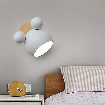 Nordic Mickey Sconce Aluminium Wandleuchte für SchlafzimmerLeuchten