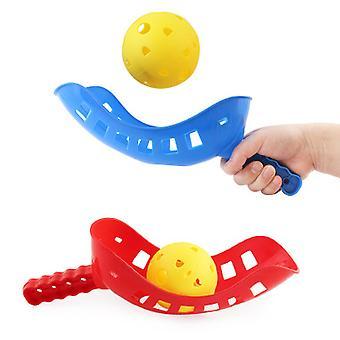 Deti hádzanie a chytanie štafety loptu športy vonkajšie rodič-dieťa Fitness hračky