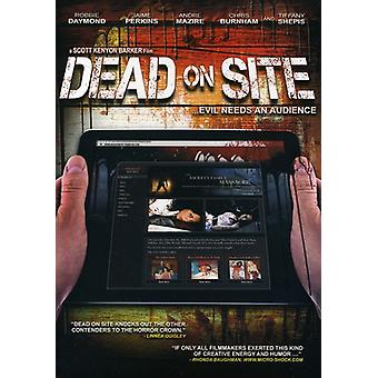 Dead on Site [DVD] USA import