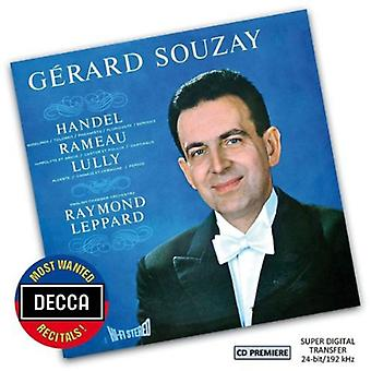 Souzay/Leppard/English Chamber Orchestra - la plupart voulaient récitals: Gerald Souzay-Handel Ramea [CD] USA import