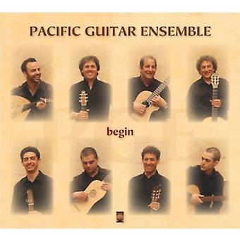 Pacific Guitar Ensemble - Begin [CD] USA import