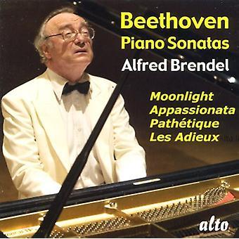 L.V. Beethoven - Beethoven: Piano Sonatas claro de luna, camino de Tique, Appassionata, importación de Estados Unidos Les Adieux [CD]