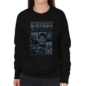 Supernatural Parody Song Hillywood Show Sam And Dean Winchester Women's Sweatshirt