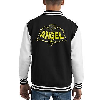 Angel Of Death Hellboy Kid's Varsity Jacket