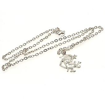 Rangers Silver Plated Pendant & Chain