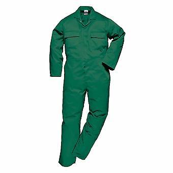 Portwest - Euro Arbeitskleidung langlebig PolyCotton-Overall mit 6 praktische Taschen