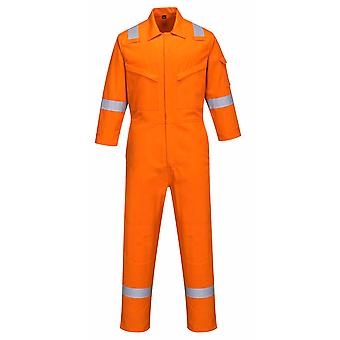 Portwest - Bizflame Plus Flame Resist Safety Workwear Ladies Coverall 350g