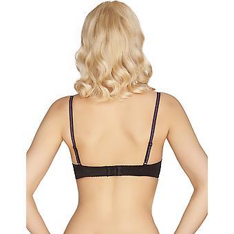 Mio Classic Florance Black Lace Push Up biustonosz H06-14-L