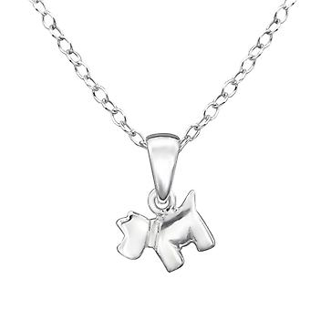 Dog - 925 Sterling Silver Necklaces - W28584X
