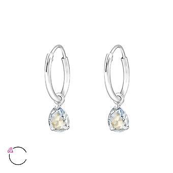 Déposez le cristal de Swarovski® - boucle d'oreille en argent Sterling 925 - W32859X