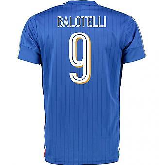 2016-2017 Italia Puma Inicio camisa (Balotelli 9) - niños