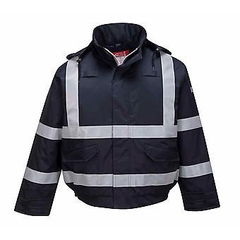 Portwest - Sicherheit Workwear Bizflame Regen Multi Schutz Bomberjacke