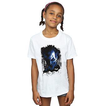 DC Comics niñas Batman Arkham Asylum Joker cara textura t-shirt
